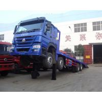 China HOWO Cargo Container Truck / Safety 40 Tons Container Transport Truck ZZ1257M4641V/M on sale