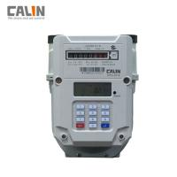 Buy cheap Steel Prepaid Electronic Gas Meter G1.6 / G2.5 / G4 , Low Credit Warning product