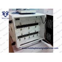 Buy cheap 13 Bands Cell Phone Vehicle Jammer 600 - 1200W Total Output Stable Operation from wholesalers