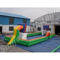 Buy cheap inflatable basketball court, basketball play ground, basketball field product