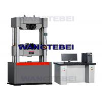 Buy cheap Pneumatic Grip Hydraulic Testing Machine , Tensile Strength Test Machine product