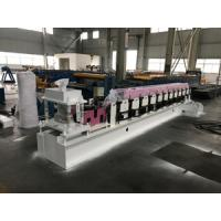 Buy cheap Fully Automatic Metal Door Frame Roll Forming Machine With Lock Hole Station product