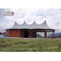 Buy cheap Customized Steel Frame Luxury Glamping Safari Tent For Outside Hotel product