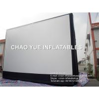 Buy cheap Giant 9 * 6m Inflatable Advertising Products Inflatable Rear Projection Screen product