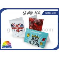Buy cheap Custom Festival Greeting Cards Printing Service for Birthday Cards with Art Paper product