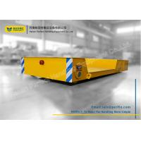 Buy cheap Cross Bay Material Transfer Cart , Motorized Floor Slab Material Handling Trolley product