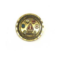 Buy cheap Die Casting Process Military Challenge Coins / Army Ranger Challenge Coin from wholesalers