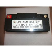 Buy cheap Lifepo4  Deep Cycle Lithium Car Battery Forelectric  Vehicles 12 Volt 20ah product