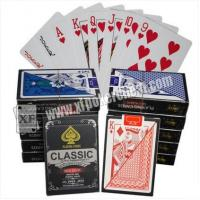Buy cheap Magic Tool Marked Classic Plastic Playing Poker Cards For Analyzer Gamble Cheat Device product