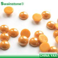 Buy cheap China factory iron on flatback pearl, flatback iron on pearl for bag product