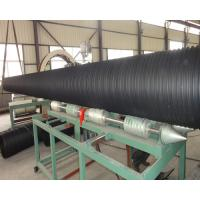 Buy cheap large diameter spiral winding hdpe pe  plastic steel reinforced pipe machine extrusion line production for sale product