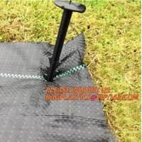 Buy cheap high quality weed matting,ground cover,weed barrier wholesale,Weed Mat Para Agro 90gsm Landscape Weed Barrier Fabric pac product