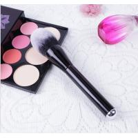 Wood Handle Cosmetics Blush Brush Synthetic Hair Handle Material