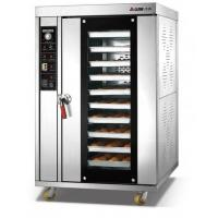 Buy cheap 18kw Electric Baking Ovens Double Control Systems / Hot Air Convection Oven product