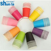 Buy cheap PE Coated Juice / Coffee Paper Cup Fan Sheet Single / Double Made in China product