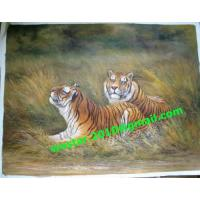 Buy cheap Professional top quality animal oil painting on canvas manufacturer - Tigers(Item no: YH0008A) product