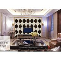 Buy cheap Art glass combined / Spell Mirror Glass Background walls product