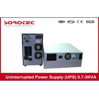 Quality 1Ph in 1Ph out Uninterrupted Power Supply / High Frequency Online UPS 3KVA 2.7KW for sale