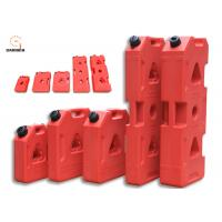Buy cheap Red Color Plastic Fuel Tanks For Cars , Anti Rust 3 Gallon Portable Fuel Tank from wholesalers