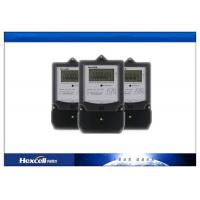 Buy cheap Single Phase Watt Hour Meter , Single Phase Electric Meter 50Hz / 60Hz product