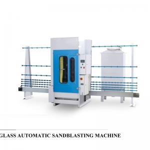 China Professional Auto Glass Edging Machine , Vertical Sandblasting Glass Equipment on sale