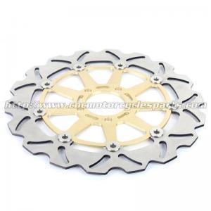 Buy cheap Kawasaki ZXR 250 Motorcycle Brake Disc Rotors And Brakes CNC Anodized Black Gold product