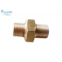 Buy cheap Fitting Hex Nipple 1/8pt X 1/8pt Suitable For Cutter XLC7000 Z7 Parts 465501045 product