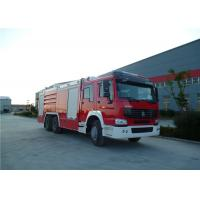 Buy cheap High Spraying Water Tanker Fire Truck With Mercedes Actros 3344 Chassis product