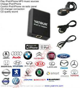 Buy cheap Yatour iPod/iPhone/iPad car adapter CD Changer interface emulator integration kit(YT-M05) product