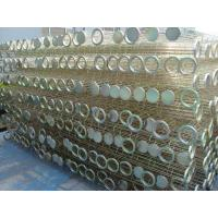 Buy cheap Galvanized / Silicon Industrial Dust Collector Filter Bags Cage Bag Filter Cage product