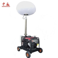 Buy cheap Hot MO-1200Q Portable LED Balloon Light Towers for Sale construction sites product