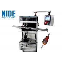 Buy cheap Medium Type Rotor Wedge Inserting Machine Plc Control Customized Color product