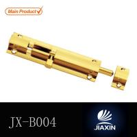 China 1 inch width 1 inch to 8 inch lengthsliding brass flush bolt lock on sale
