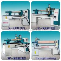 Buy cheap COSEN CNC  control system wood turning machine with centering set for wood, artificial stone, resin product