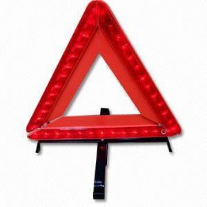 Embalaje plegable y fácil, alto triángulo amonestador de la reflectividad LED para la avería automotriz