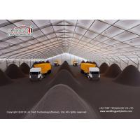 Buy cheap High Quality Warehouse Tent Water Proof Fire Retarant PVC Sidewall Coal Storage product