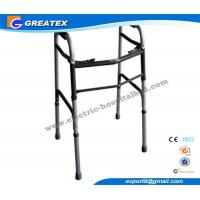 Buy cheap Medline folding walker With Double Buttons Height Adjustable with Optional Castor product