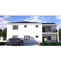 Buy cheap Two Stories Prefab Steel House Light Gauge Resist Earthquake And Longevity product