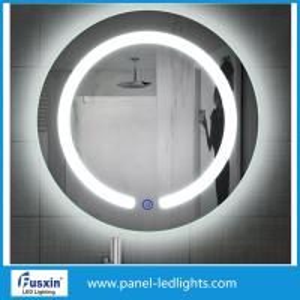 China IP44 waterproof round frameless led bathroom mirror lights makeup mirror lights on sale