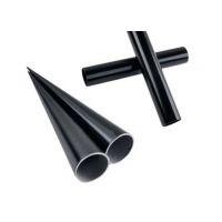 Buy cheap 1 Inch Custom High Quality Black Anodized Aluminum Tubing 1.4mm Thickness product