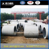 Buy cheap concrete pipe making machine product