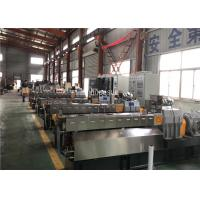 Buy cheap Parallel Twin Screw Extruder Granules Example Filling Master Batch Production product
