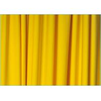 Buy cheap Knitted Plain Yellow 100D 4 Way Stretch Polyester Spandex Fabric for Swimsuit / Lingerie 1.7m * 180gsm product