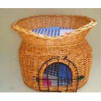 Buy cheap Wicker/willow pet basket with natural willow material product