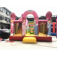 Buy cheap Big Pink Princess Inflatable Bouncer , Professional Commercial Bounce House product