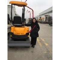 Buy cheap mini excavator 800 kg Compact minisize hot sale in market with bucket trailers steel track wheel attachments product