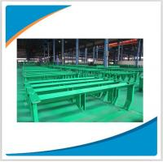 Buy cheap Sturdy and durable belt conveyor roller bracket, idler roller frame product