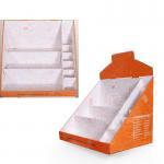Buy cheap Vapes Pantone Printing Corrugated Cardboard Displays Super Market Paper Display Box product