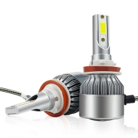 Buy cheap 36W 3800LM C6 Led Headlight H3 H4 H7 H11 Auto Headlights With COB Chips product