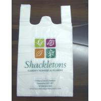 Buy cheap Custom printed T Shirt Plastic Bags packaging small bags recycling for food product